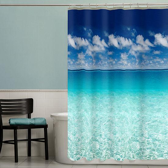 Maytex Escape PEVA Shower Curtain