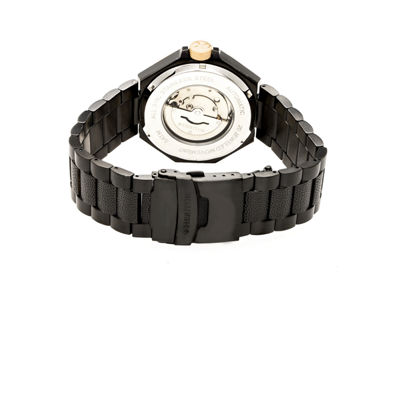 Heritor Spartacus Mens Black Bracelet Watch-Herhr5405