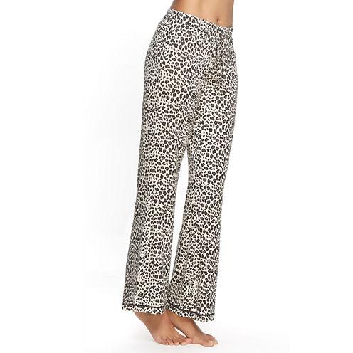 Jezebel Microfiber Cheetah Pajama Pants