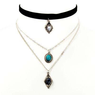 Arizona Freeform Womens Choker Necklace