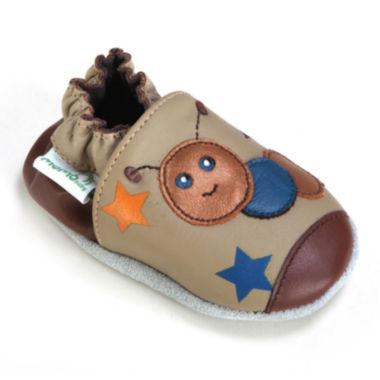 Momo Baby Caterpillar Boys Crib Shoes-Baby