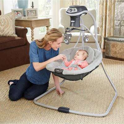 Graco Simple Sway LX Baby Swing with Multi-Direction