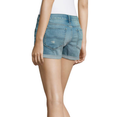 "Arizona 2.5"" Denim Shorts-Juniors"