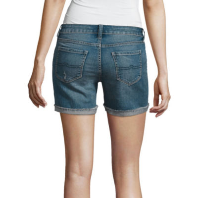 "Arizona 4.5"" Midi Shorts-Juniors"