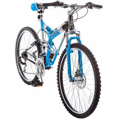 Titan® Glacier-Pro Suspension Mountain Bike