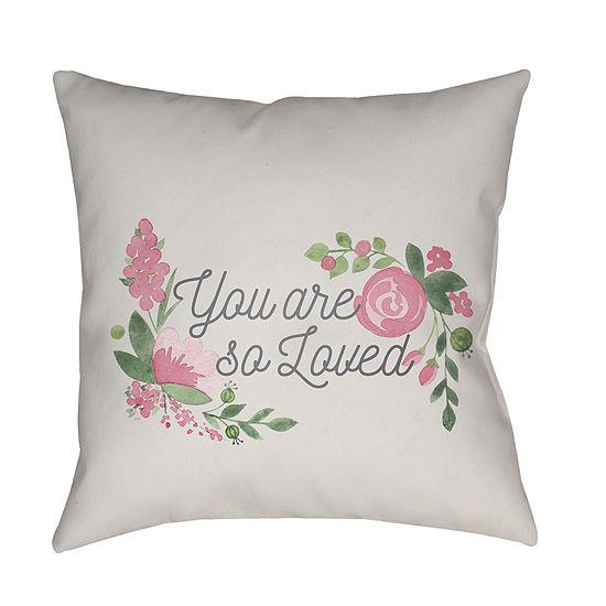 Decor 140 Pritchard Square Throw Pillow