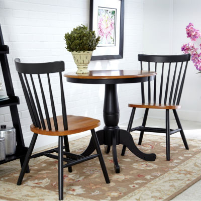 Pedestal 3-pc. Round Dining Set