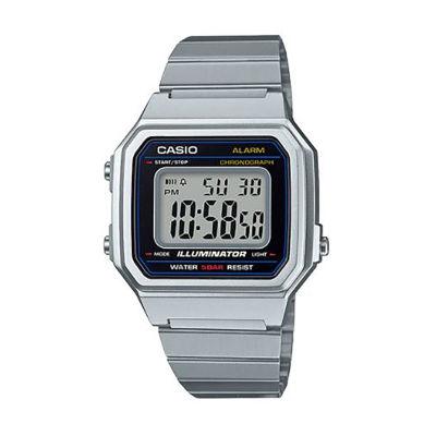 Casio Table Mens Silver Tone Strap Watch-B650wd-1acf