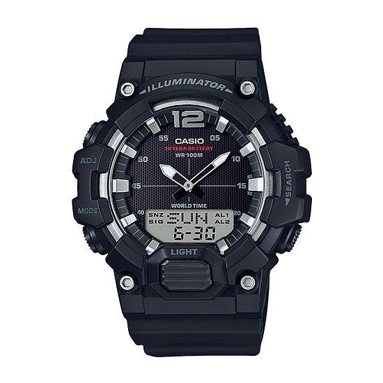 Casio Mens Black Strap Watch-Hdc700-1av