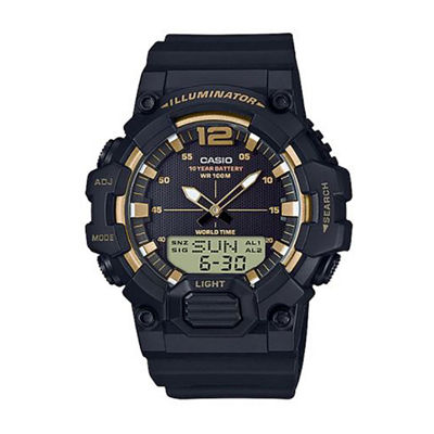 Casio Table Mens Black Strap Watch-Hdc700-9av