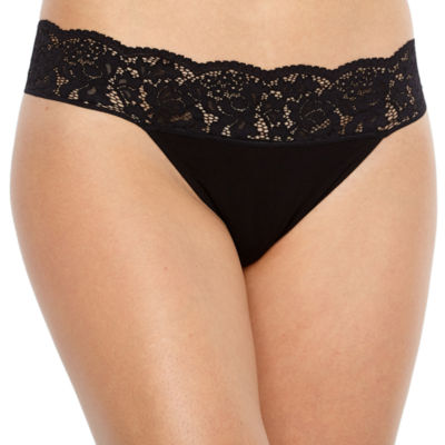 Ambrielle Knit Thong Panty