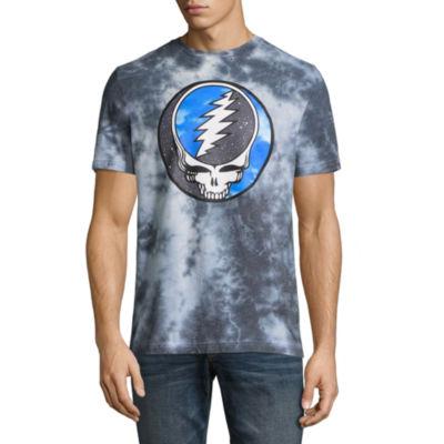 Hybrid Short Sleeve Music Graphic T-Shirt