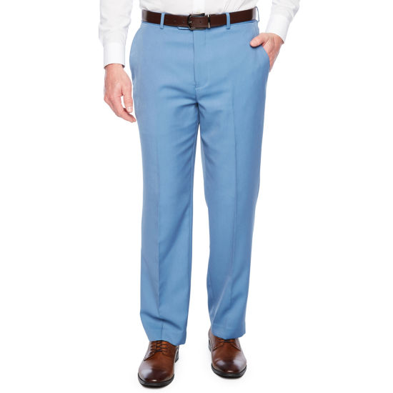 Stafford® Travel Super Flat-Front Dress Pants - Classic Fit