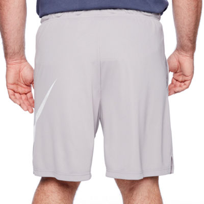 Nike Mens Elastic Waist Workout Shorts - Big and Tall