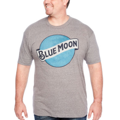 Blue Mon Short Sleeve Graphic T-Shirt-Big and Tall