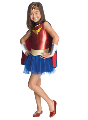 Buyseasons 6-pc. Wonder Woman Dress Up Costume Girls