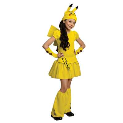 Pokemon Pikachu Child Costume