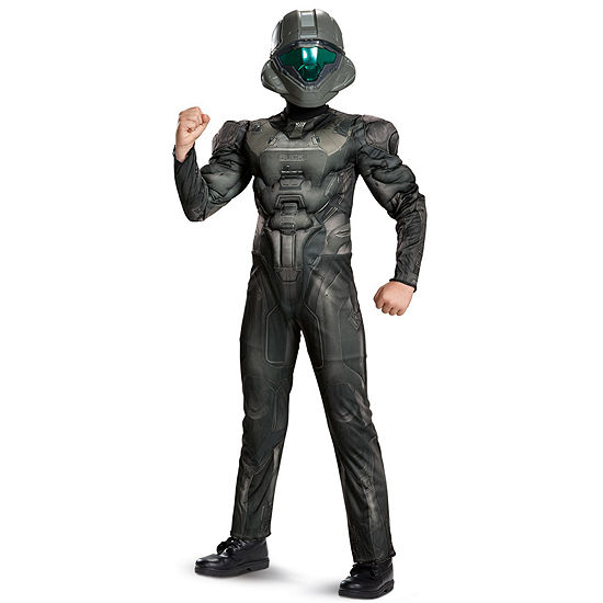 Halo Spartan Buck Classic Muscle Child Costume