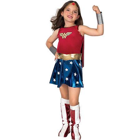 Buyseasons 6-pc. Wonder Woman Dress Up Costume Girls, Small , Multiple Colors