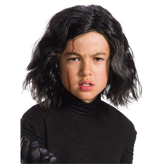 Star Wars Kylo Ren (Wig and Scar Sheet) Child Dress Up Accessory