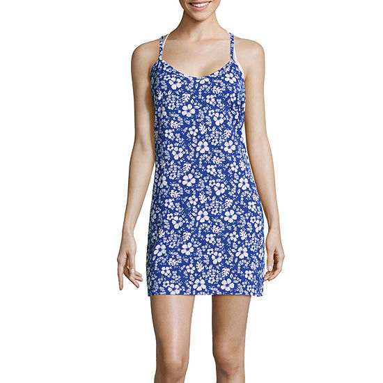 City Streets Floral Dress Swimsuit Cover-Up Juniors