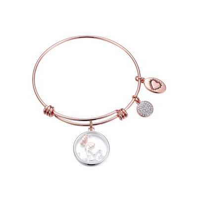 Footnotes Footnotes Clear Bangle Bracelet