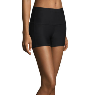 Xersion Jersey High Rise Shortie Shorts-Tall