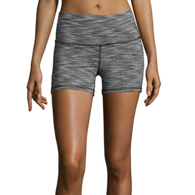 Xersion Womens High Waisted Shortie Short-Tall