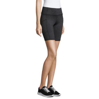 "Xersion Womens 8 3/4"" Bike Short-Tall"