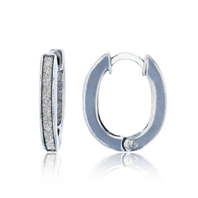 Sterling Silver 17mm Hoop Earrings