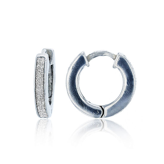 Sterling Silver 15mm Hoop Earrings