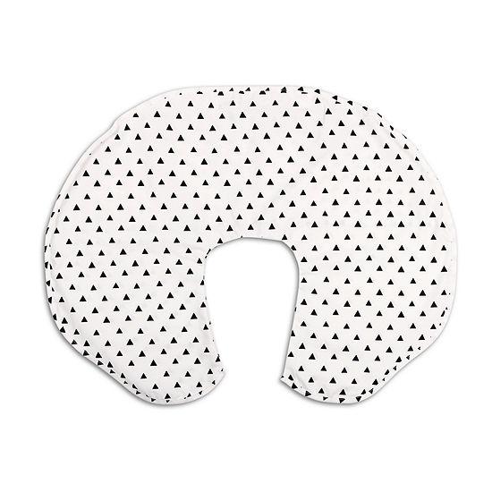 The Peanut Shell Black Triangle Nursing Pillows