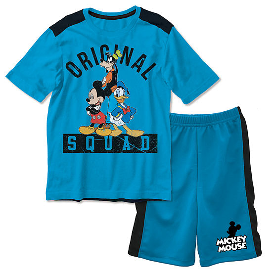 Disney Boys 2-pc. Short Set Toddler