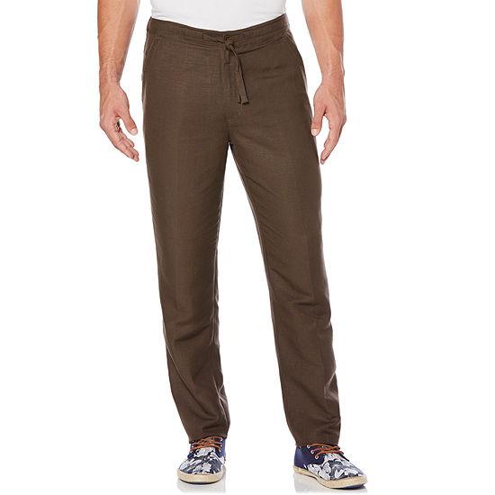 Cubavera Mens Mid Rise Drawstring Pants