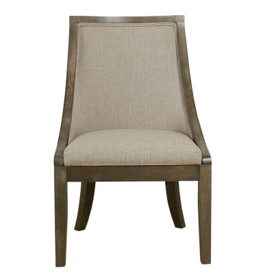 Wooden Accent Chair