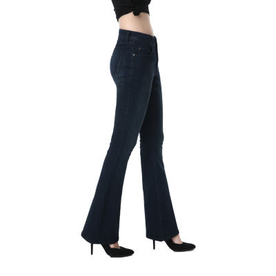 phistic Women's Stretchy Flare Jeans