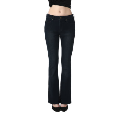 phistic Women's Stretchy Bootcut Jeans