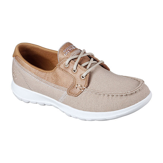 b1652afff2b0f Skechers Go Walk Boat Womens Boat Shoes JCPenney