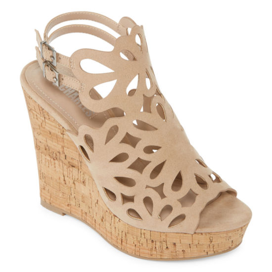 Style Charles Alaiah Womens Wedge Sandals