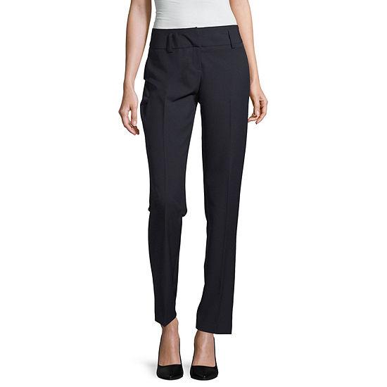 Worthington Womens Curvy Fit Trouser