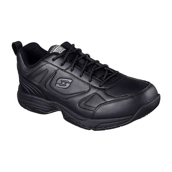 Skechers Mens Dighton Closed Toe Wide Width Lace Up Shoe