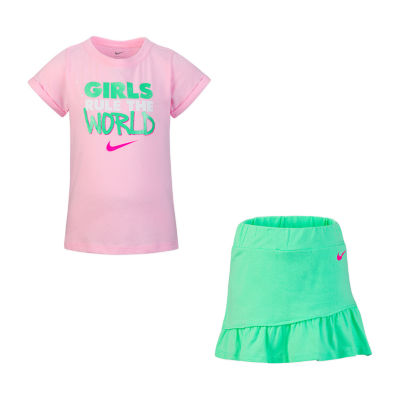 Nike 2-pc. Skort Set Preschool Girls