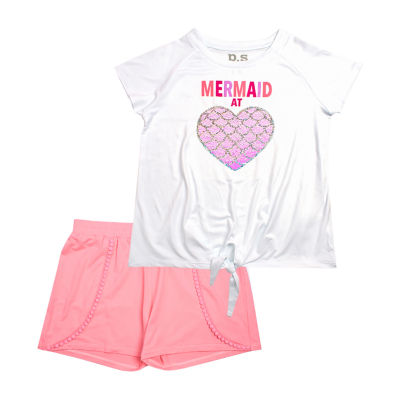 Ps Aeropostale 2-pc. Short Set Girls