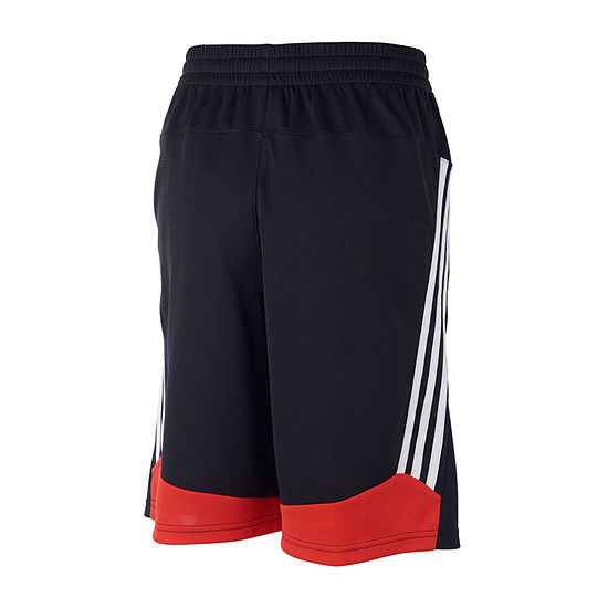 adidas Toddler Boys Mid Rise Workout Shorts