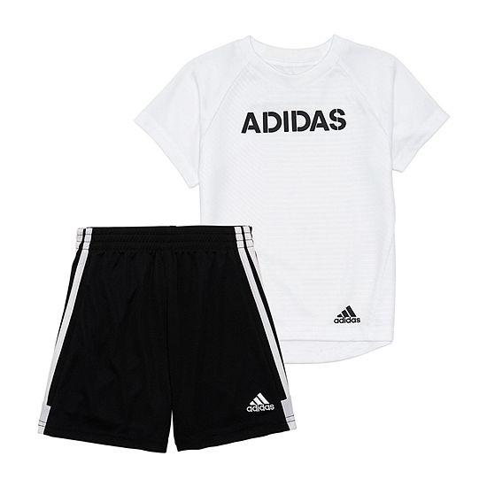 Adidas 2 Pc Short Set Boys