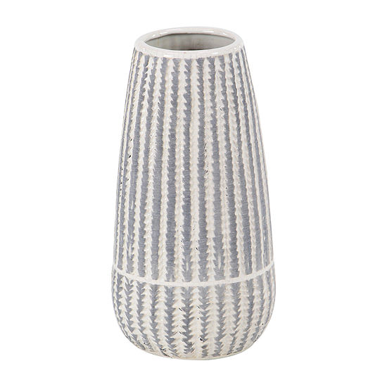 Willow Row Cylinder Cermanic Vase