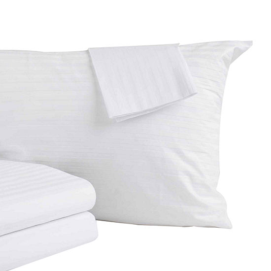 Premium Anti-Allergen 300 Thread Count Zippered Pillow Protector 2-Pack