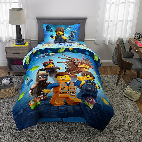 Lego Let's Build It Together Comforter with Sheet Set
