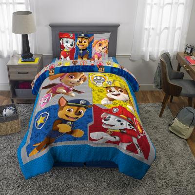 Nickelodeon Paw Patrol Gang's All Here Comforter & Sheet Set