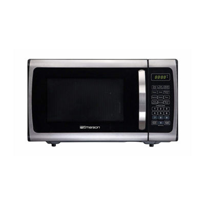 Emerson 0.9Cu Ft 900 Watt Touch Panel Microwave Oven